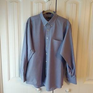 Men's Chaps button down collar dress shirt
